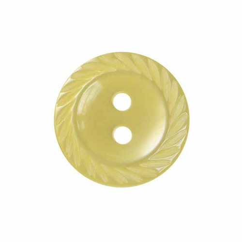 Lemon Milled Edge Baby Buttons