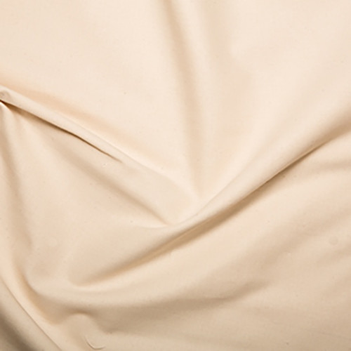Natural Ecru Calico (Pre-Shrunk) Fabric, 140cm/55in wide, Sold Per HALF Metre