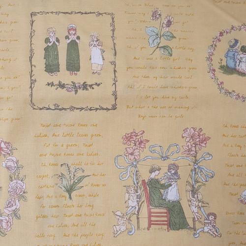"Kate Greenaway ""104"" Cotton Fabric, 112cm/44in wide, Sold Per HALF Metre"