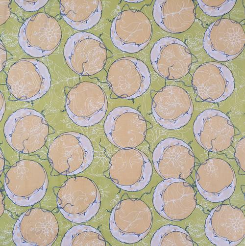 Moon Sky Cotton Fabric, 112cm/44in wide, Sold Per HALF Metre
