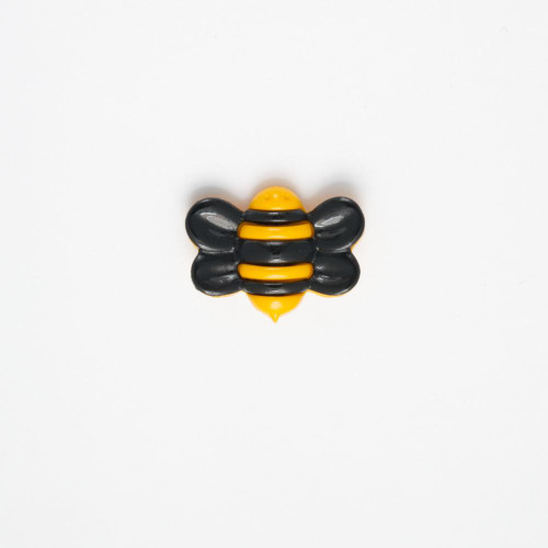 Bumble Bee Novelty Buttons, 25mm wide, Sold Individually