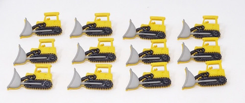 Construction Digger Novelty Buttons, Sold Individually