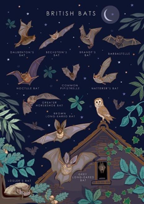 British Bats Card