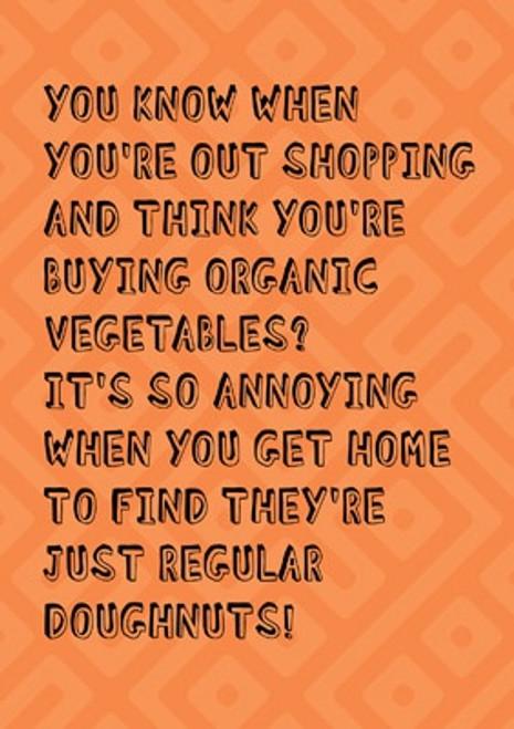 Buying Organic Card