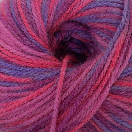 Adriafil New Zealand Print Aran (100g) - 23 Pink Fizz