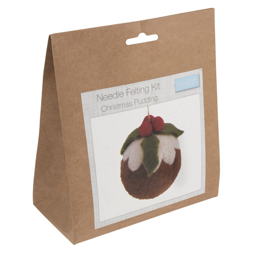Christmas Pudding Needle Felting Kit