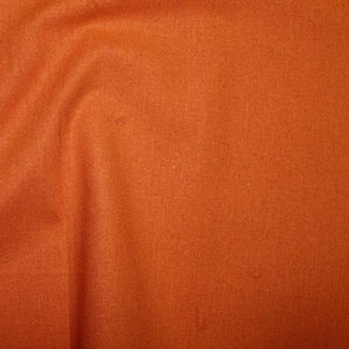 Orange 100% Cotton Fabric, 112cm/44in wide, Sold Per HALF Metre