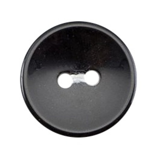 Black 16mm 2-hole Buttons on Card (Code B) x 7pc