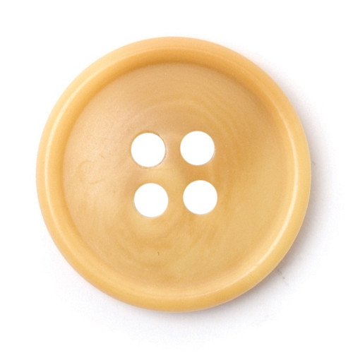 Beige Woodgrain 20mm 4-hole Buttons on Card (Code B) x 3pc