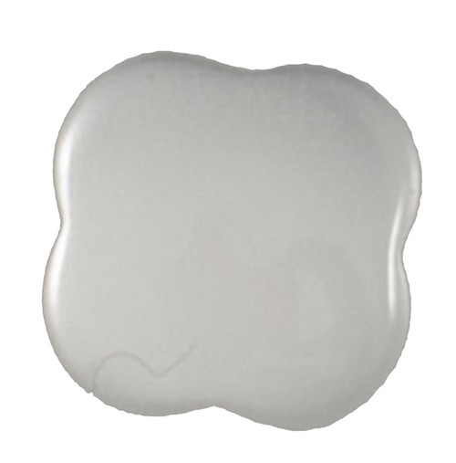 White Quatrefoil 11mm Shank Buttons on Card (Code C) x 4pc