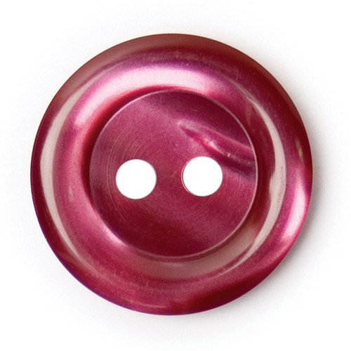 Plum 17mm 2-hole Buttons on Card (Code C) x 4pc