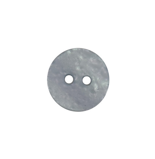Frosted Blue Textured 12mm 2-hole Buttons on Card (Code B) x 5pc