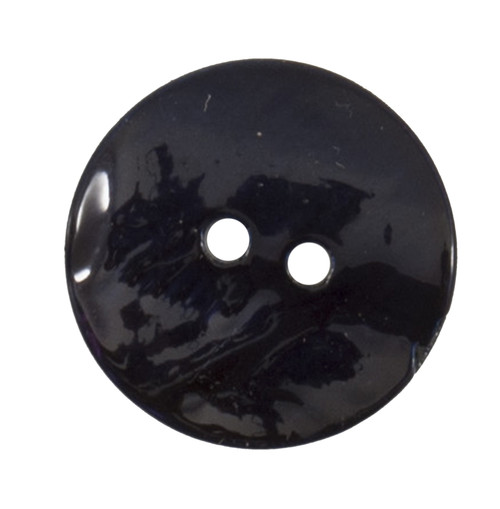 Navy Mother of Pearl Shell 17mm 2-hole Buttons on Card (Code E) x 3pc