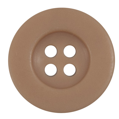 Dark Peach 17mm 4-hole Buttons on Card (Code B) x 3pc