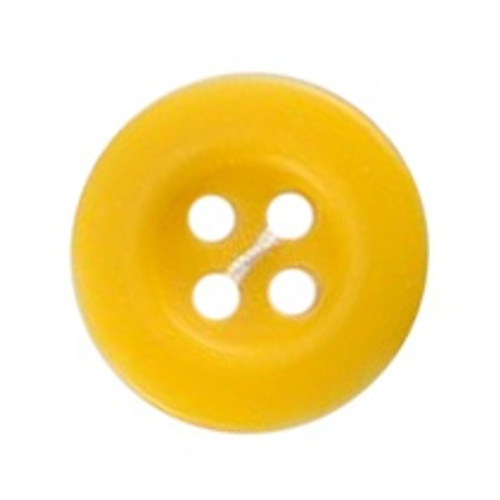 Yellow 17mm 2-hole Buttons on Card (Code B) x 3pc