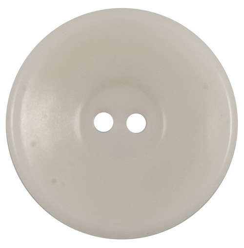 Cream Wide Rim 27mm 2-hole Buttons on Card (Code E) x 2pc