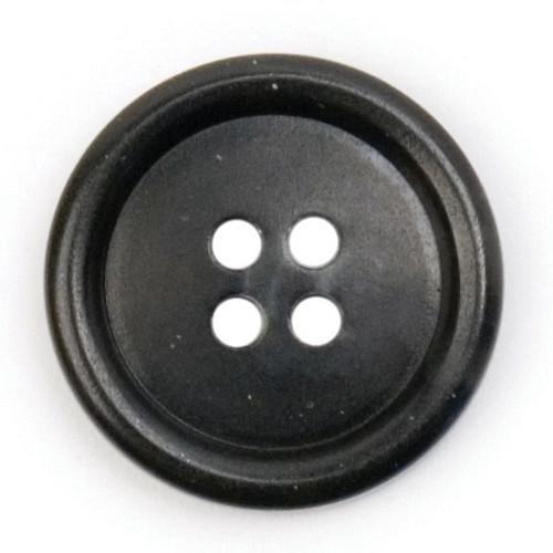 Black & Charcoal Grey Watermark 20mm 4-hole Buttons on Card (Code C) x 3pc