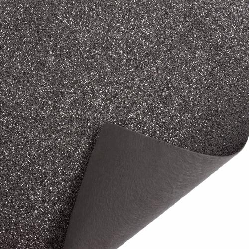 Pewter Glitter Felt Sheet (23cm x 30cm)