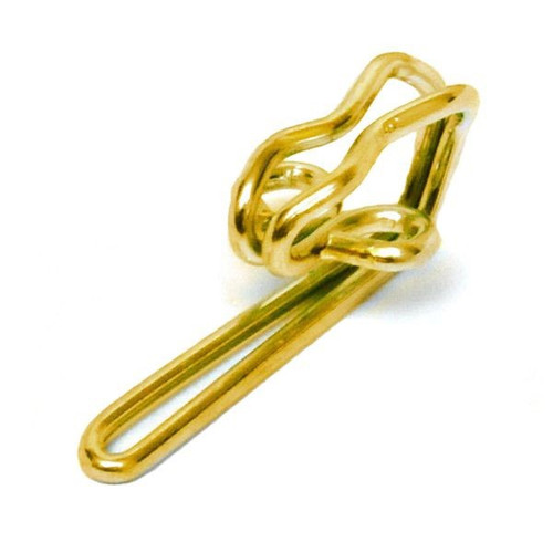 Brass Metal Curtain Hooks, Sold Individually