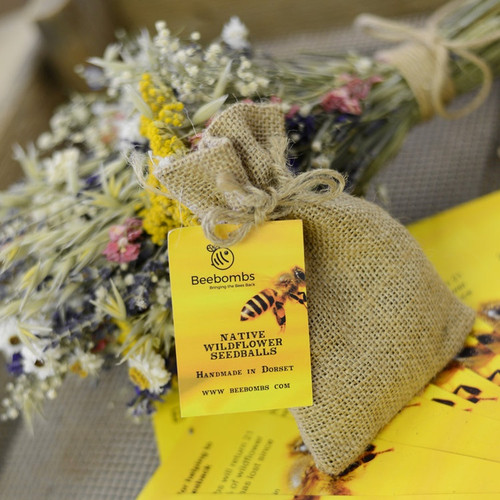 Bee Bomb of Native Wildflower Seeds