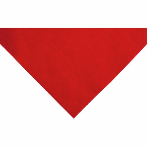 Red Acrylic Felt Sheet (23cm x 30cm)
