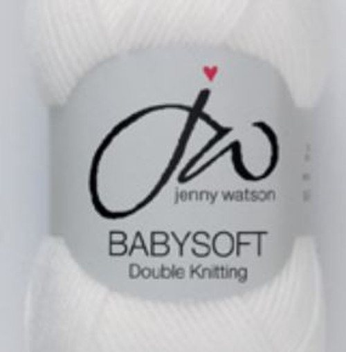 Baby White Babysoft Luxury 4ply (50g)