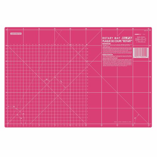 Pink 12in x 18in Self-Healing Cutting Mat