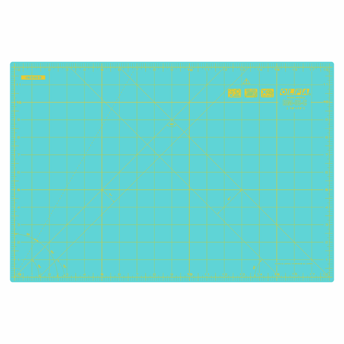 Aqua 12in x 18in Self-Healing Cutting Mat