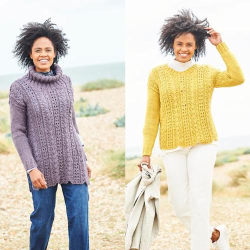 9815 Ladies Tunic & Sweater Softie Chunky Knitting Pattern