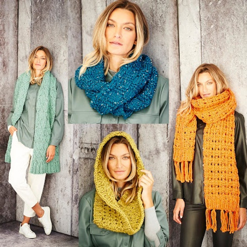9810 Ladies & Teens, Scarf & Snood Super Chunky- One Size