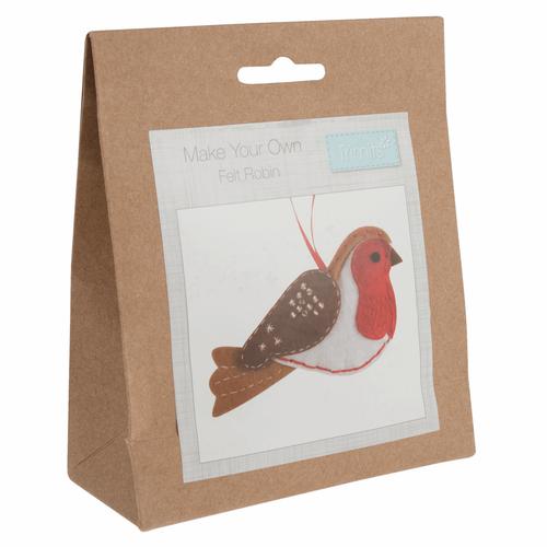 Robin Felt Decoration Kit