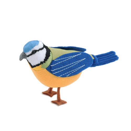 Blue Tit Bird Pin Cushion