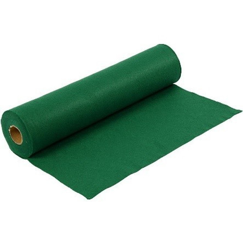 Emerald Green Acrylic Felt Roll, 45cm wide x 1mtr length