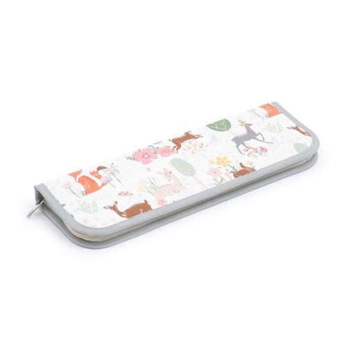 Woodland Design Hard-Sided Knitting Pin Case