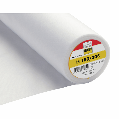 308/H180 Easy Fuse Light Ultrasoft Iron-on Interfacing, 90cm wide, Sold Per Metre