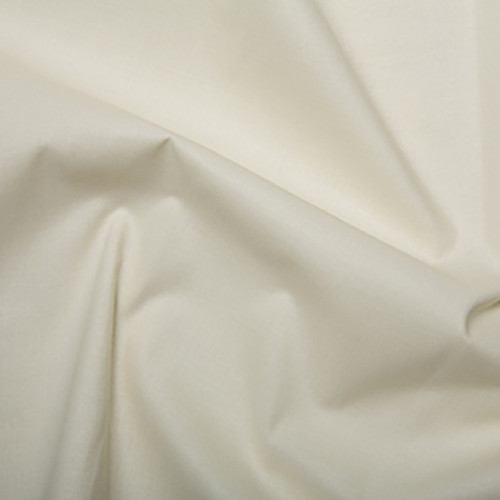 Ivory Plain Weave Curtain Lining, 137cm/54in wide, Sold Per HALF Metre