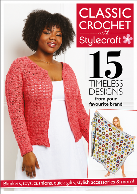 Classic Crochet Pattern Book of 15 Designs
