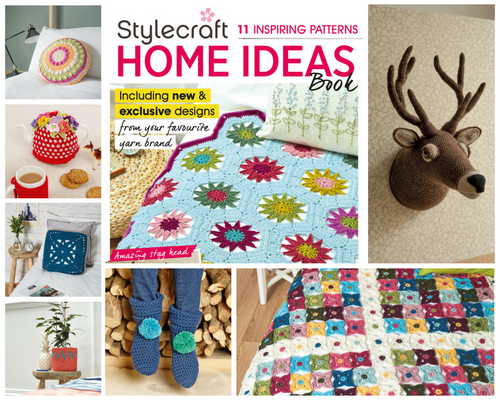Home Ideas Knitting Pattern Book of 11 Designs
