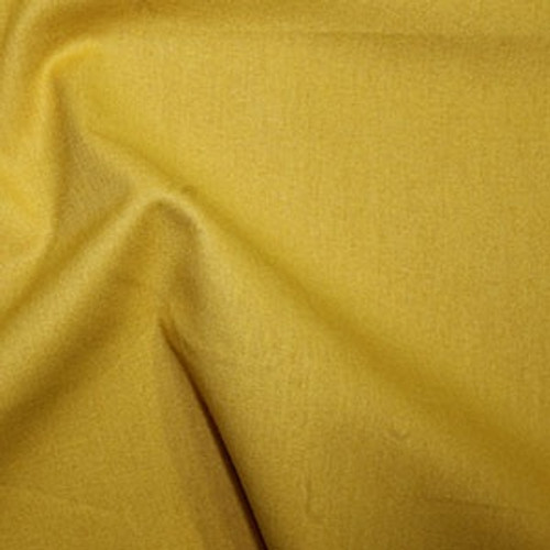 Gold 100% Cotton Fabric, 112cm/44in wide, Sold Per HALF Metre