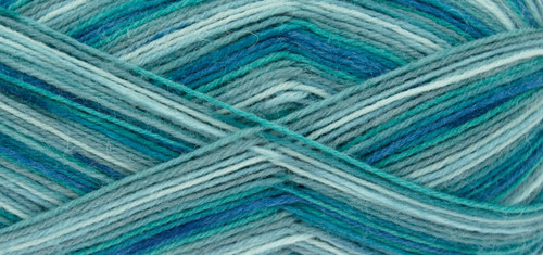 Ocean Zig Zag 4 Ply Sock Wool (100g)
