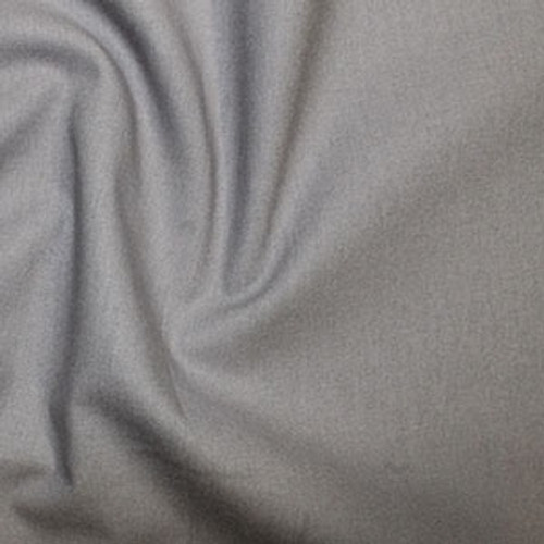 Elephant Grey 100% Cotton Fabric, 112cm/44in wide, Sold Per HALF Metre