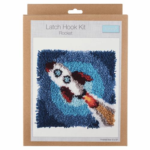 Latch Hook Kit: Rocket