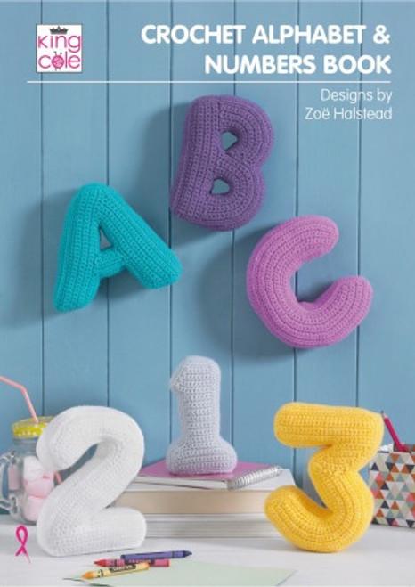 Crochet Alphabet & Numbers Pattern Book