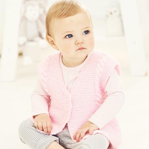 9680 Special For Babies DK 2 Design Easy Knit size:41-61cm