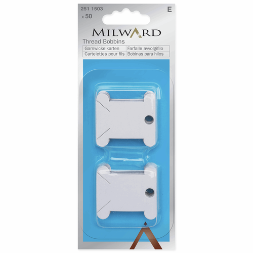 Milward Floss Card Bobbins (50pc)