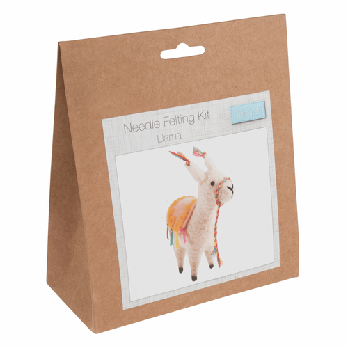 Needle Felting Kit: Llama