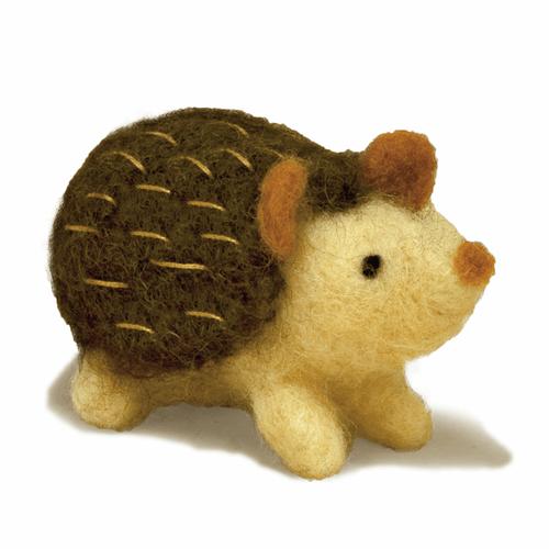 Needle Felting Kit: Hedgehog