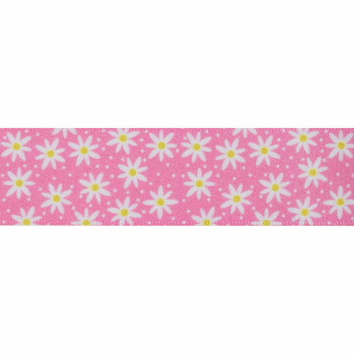 Daisy Chain - 25mm in Pink ( Sold Per Metre)