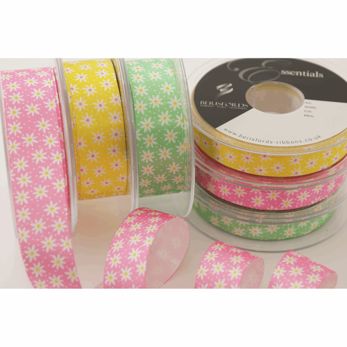 Daisy Chain-15mm in Yellow ( sold Per Metre)