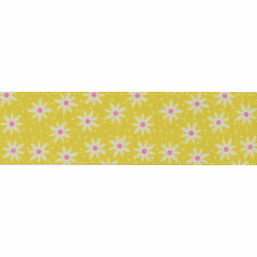 Daisy Chain-25mm in Yellow ( sold Per Metre)